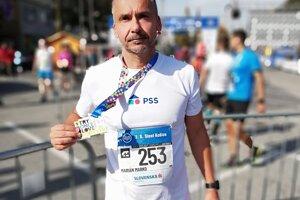 Marián Marko má za sebou maratóny aj v Košiciach či v Prahe.