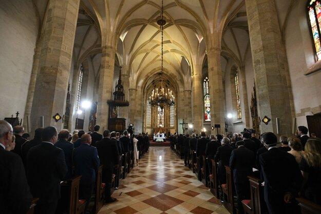 Ekumenická bohoslužba Te Deum v katedrále sv. Martina v rámci inaugurácie prezidentky SR.