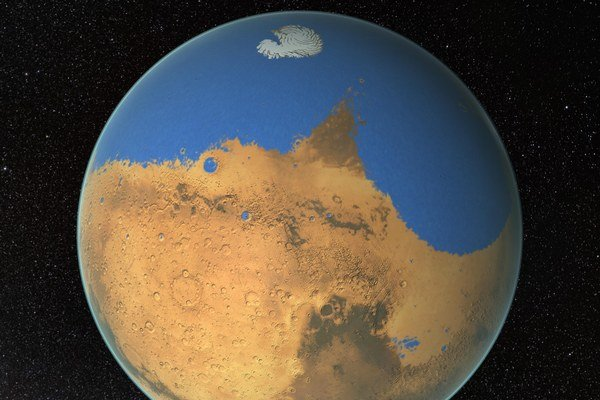 V prípade Marsu uniklo asi 87 percent vody do vesmíru.