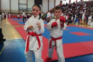Mladá nádej karate v Liptovskom Hrádku.