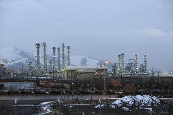 Iránske jadrové zariadenie v Araku.