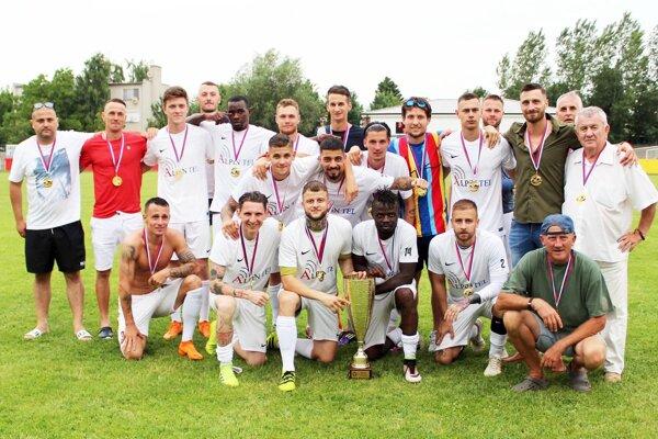 Majstrom IV. ligy sa stal futbalisti FC Vydrany.