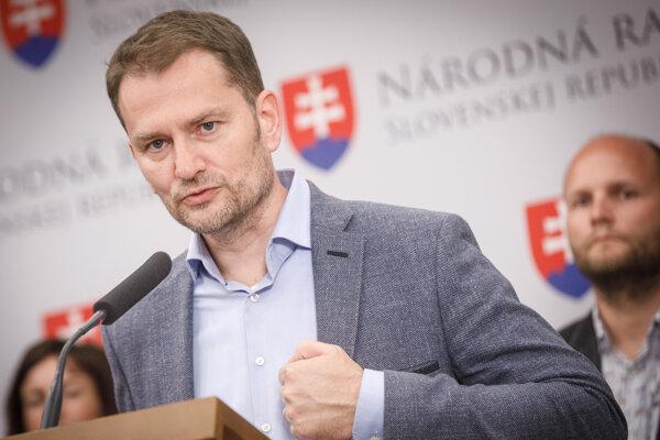 Líder OĽaNO Igor Matovič.