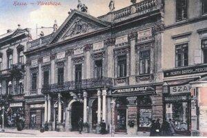 Mestská radnica, sídlo Revolučnej vládnej rady v roku 1919.