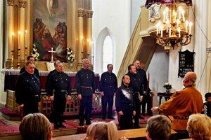 Koncert v evanjelickom kostole v Bátovciach.