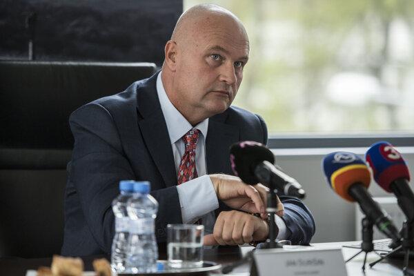 Generálny riaditeľ Národnej diaľničnej spoločnosti (NDS) Ján Ďurišin.