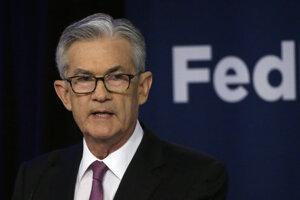 Prezident americkej centrálnej banky Jerome Powell.
