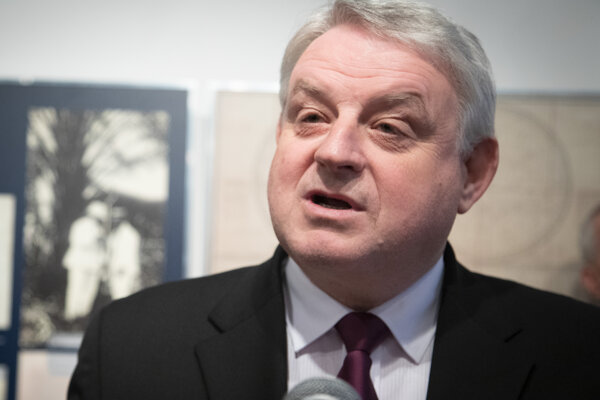 Štátny tajomník ministerstva vnútra Michal Bagačka.