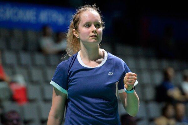 Slovenská reprezentantka v bedmintone Martina Repiská na II. Európskych hrách v Minsku 24. júna 2019.