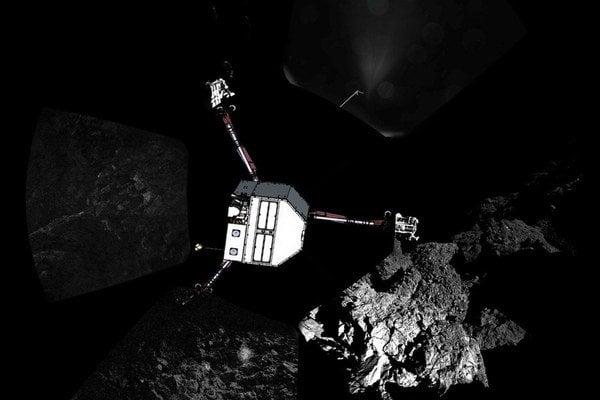 Pristátie na kométe vyšlo až po dvoch skokoch. No napriek tieňu Philae priniesol potrebné vedecké dáta.
