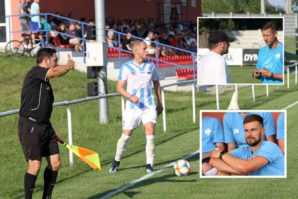 FC Nitra svoj prvý zápas prípravy na Fortuna ligu odohral v peknom prostredí v Alekšinciach. Tréneri Süttö a Geri (hore vo rámčeku) skúšali dve rôzne formácie, záložník Bilovský (dole) však apeluje, že tím potrebuje posily.