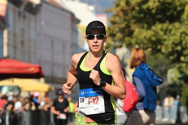 Sylvia Šebestian bola tento rok s čistým časom 3:00:43 hod. najrýchlejšou Slovenkou ČSOB Maratónu.