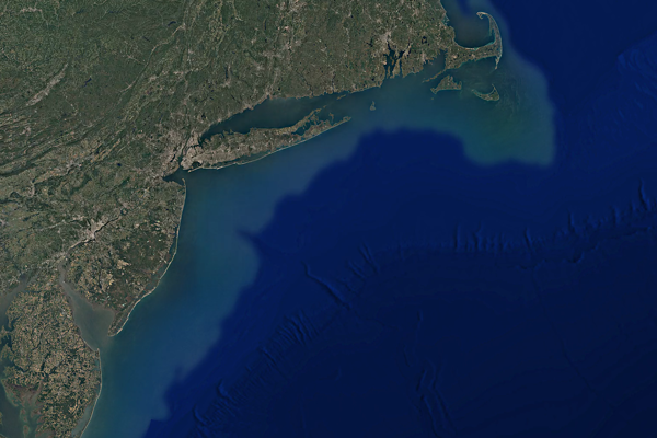 Pod severovýchodným pobrežím Spojených štátov vedci objavili obrovský zásobník sladkej vody.
