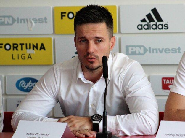 Riaditeľ klubu Milan Cuninka