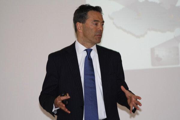 Generálny riaditeľ Nestlé pre Slovenskú a Českú republiku Torben Emborg.