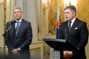 Béla Bugár a Robert Fico.
