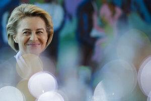 Ursula von der Leyenová je kandidátkou na post šéfky Európskej komisie. Čaká na podporu z europarlamentu.