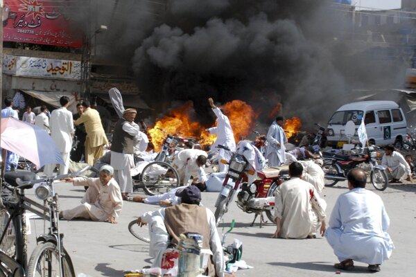 Explózia v meste Kvéta, metropole provincie Balúčistán.