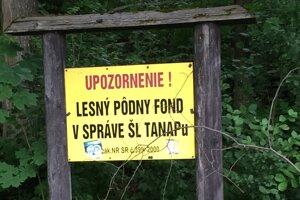 Štátne lesy TANAP-u spravujú celé územie.