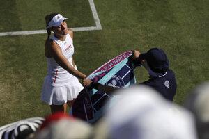 Angelique Kerberová vypadla už v druhom kole Wimbledonu 2019.