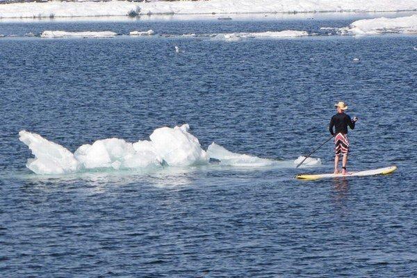 Ľadovce boli aj na Floride.