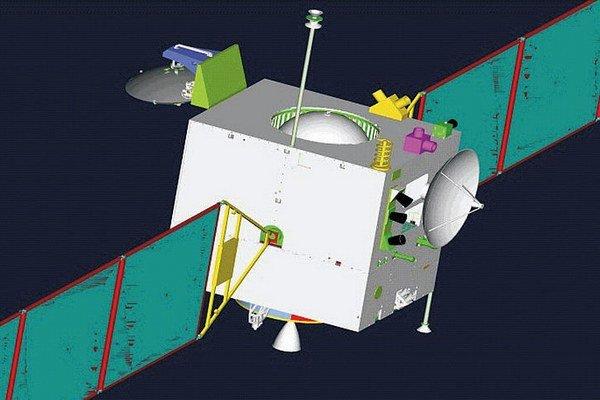 Prvá čínska mesačná sonda Čchang-e 1.