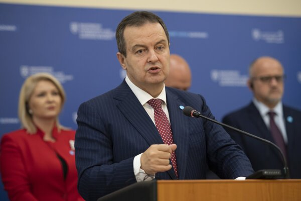 Srbský minister zahraničných vecí Ivica Dačič.