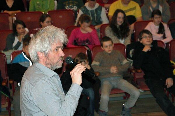 Hosť festivalu, fotoreportér Andrej Bán, predstavil publiku v Prievidzi svoje reportáže o utečencoch.