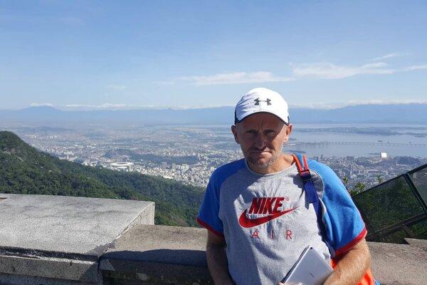 Ultramaratónec Slavomír Lindvai