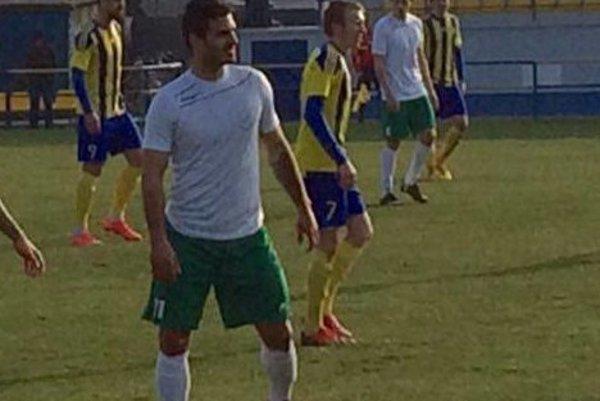 Michal Živčic strelil oba góly Nového Mesta.