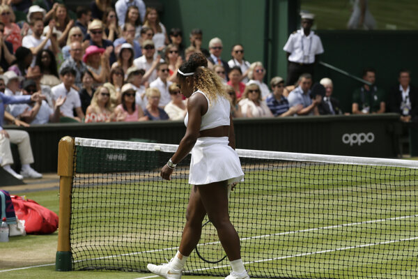 Serene Williamsovej finále Wimbledonu 2019 nevyšlo.