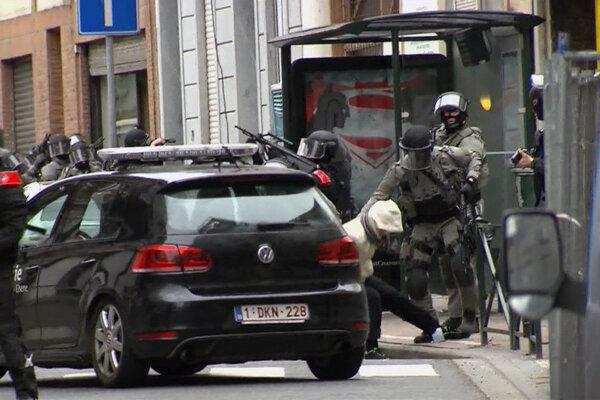 Abdeslama zadržali v piatok v bruselskej štvrti Molenbeek.