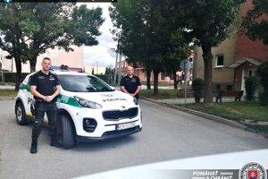 Muž sa dostal do nemocnice vďaka rýchlemu zásahu policajtov.