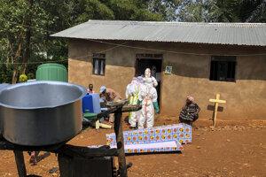 Nový prípad eboly potvrdili v meste Goma, kde žijú viac ako dva milióny ľudí.