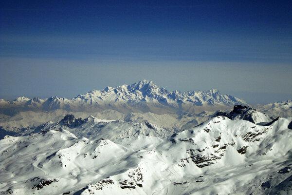 Z Val Thorens je nádherný výhľad. Mt. Blanc máte ako na dlani.