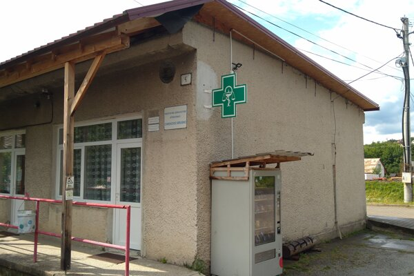 Zdravotné stredisko v Chrenovci-Brusne.