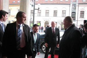 Prezident Andrej Kiska navštívil  Trnavu.