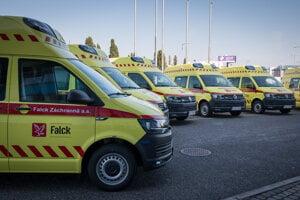O stanice po Falcku bol veľký záujem. Najviac ich získala záchranka LSE - Lige Star Emergency.