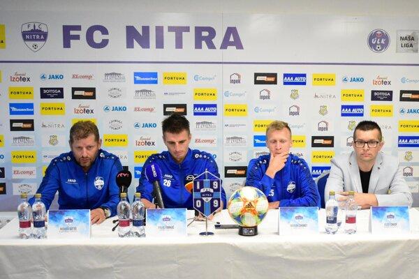 Dnes sa uskutočnila tlačová konferencia futbalového klubu FC Nitra.