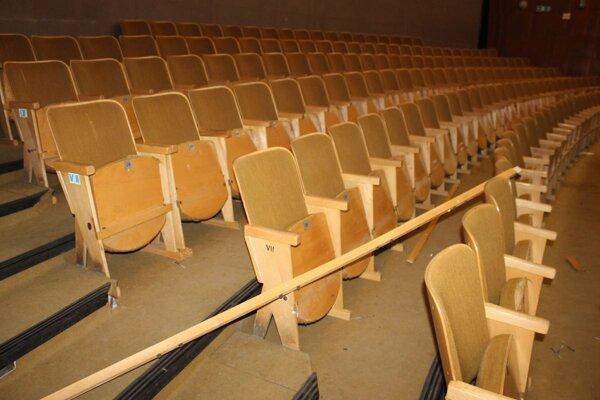 Premietanie v trebišovskom kine je prerušené.