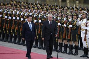 Prezident Zeman do Číny chodí pravidelne.