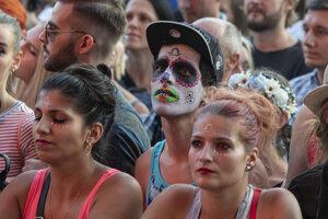 Fanúšikovia počas koncertu Rag´n´Bone Man.