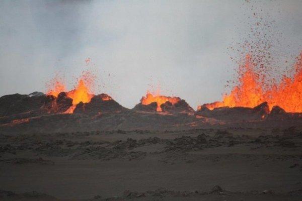 Na Islande znovu vidieť lávu.