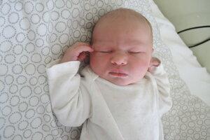 Erika Vacvalová (3050 g, 48 cm) sa narodila 18. júla Marcele a Jánovi z Borčíc.