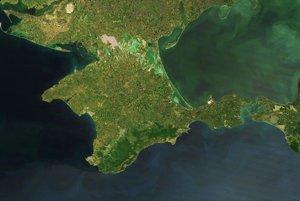 Aj hranice Krymského polostrovu sa rôznia podľa toho, odkiaľ sa naň pozeráte.