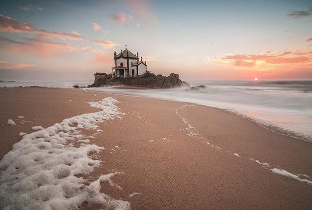 Praia de Miramar.