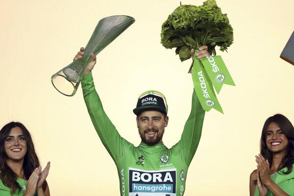 Kráľ špurtérov na Tour. Sagan získal siedmy zelený dres.