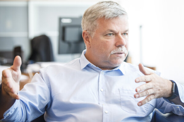 Šéf Rady pre rozpočtovú zodpovednosť Ivan Šramko.