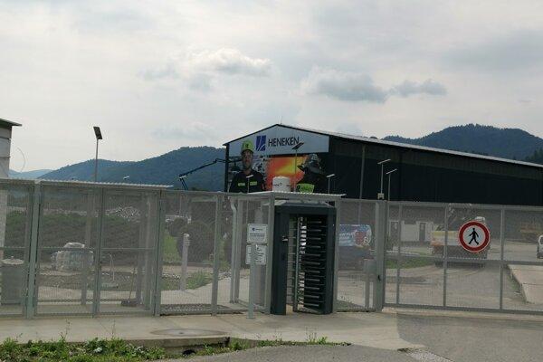 Závod spoločnosti Heneken v Spišských Vlachoch.
