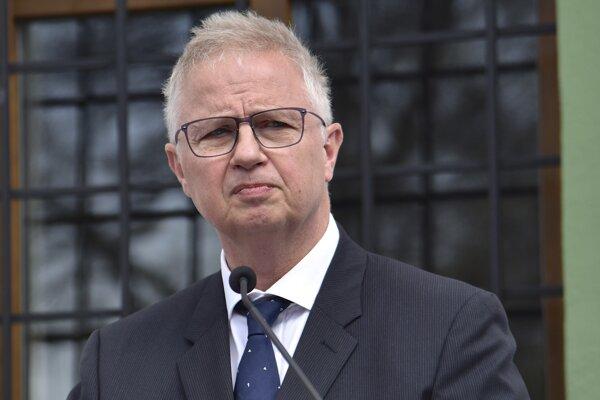 László Trócsányi, europoslanec za Fidesz a bývalý maďarský minister spravodlivosti.